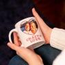 Personalised Crazy In Love Valentine Photo Mug