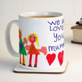 Your Child's Artwork Personalised Mug
