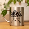 Personalised Stainless Steel Adventure Mug