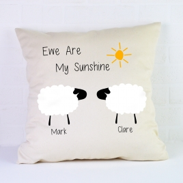 Personalised Cushion / Sheep