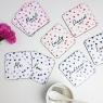 Personalised Couples Polka Dot Coasters Pair