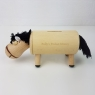 Personalised Wooden Horse Money Box