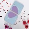 Personalised Love Heart Coasters Pair