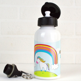 Personalised Unicorn Water Bottle