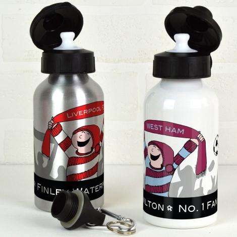 Personalised Football Water Bottle