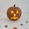 Wooden Halloween Pumpkin Model Kit