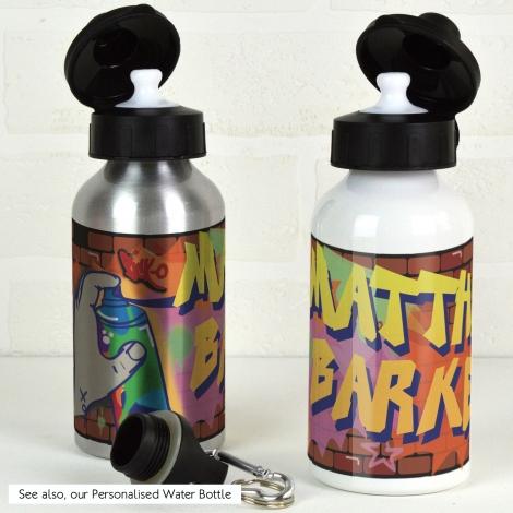 Personalised Graffiti Water Bottle