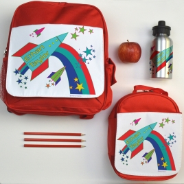 Personalised Back to School Rocket Set