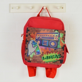Personalised Graffiti Backpack
