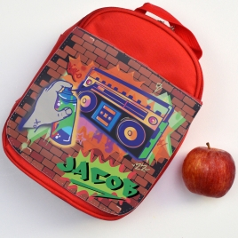 Personalised Graffiti Lunch Bag