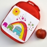 Personalised Elephant Lunch Bag