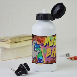 Personalised Graffiti Water Bottle