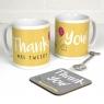 Personalised Thank You Mug