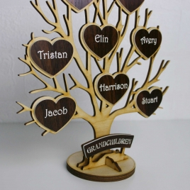 Personalised Wooden Tree of Life