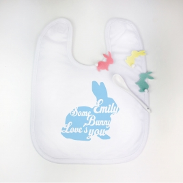 Personalised Easter Silhouette Bib