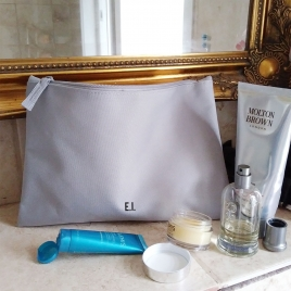 Personalised Men's Toiletries Bag