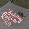 Personalised Baking Queen Apron