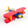Personalised Wooden Plane / Push Along Toy