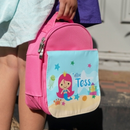 Personalised Mermaid Lunch Bag