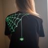 Halloween Glow In The Dark Spider T Shirt