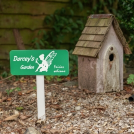 Personalised Magical Garden Sign
