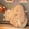 Super Soft Bunny With Embroidered Blanket
