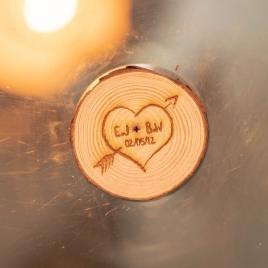 Carved Wooden Love Token