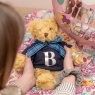 Classic Teddy Bear With Initial Shirt