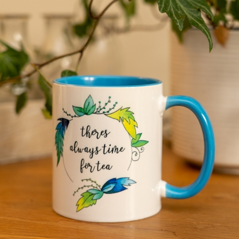 Bold Tropical Design Mug