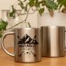 Personalised Stainless Steel Adventure Mug