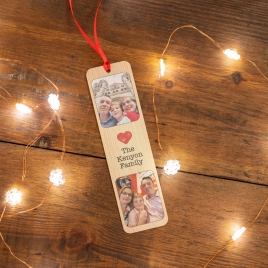 Personalised Engraved Photo Bookmark