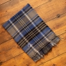Personalised Embroidered Winter Checked Scarf