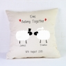 Personalised Wedding Cushion / Sheep