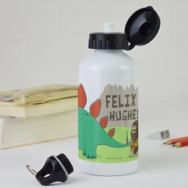 Personalised Water Bottle – Dinosaur