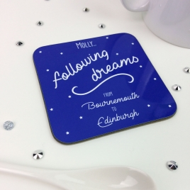 Personalised Coaster Moving Away Kit