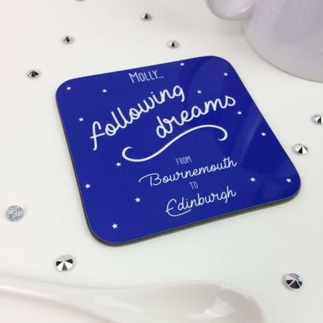 Personalised Coaster Moving Away Kit