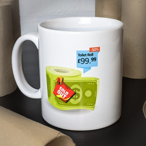 Toilet Roll Sold Out Mug