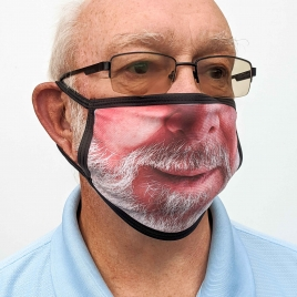 Personalised With Your Face Mask