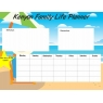 Personalised Family Planners