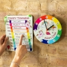 Childs All Day Clock And Schedule Set