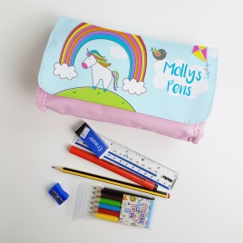 Personalised Unicorn Pencil Case
