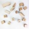 Personalised Wooden Building Blocks Gift Set