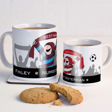 Personalised Football Mug
