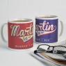 Personalised Retro Style Fathers Day Mug