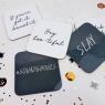 Stylish Halloween Coaster