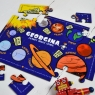Personalised Wooden Learn About Space Puzzle
