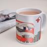 Personalised London Bus Mug