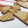 Personalised Christmas Tree Decoration Set