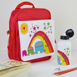 Personalised Elephant Backpack