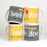 Personalised Thank You Mug